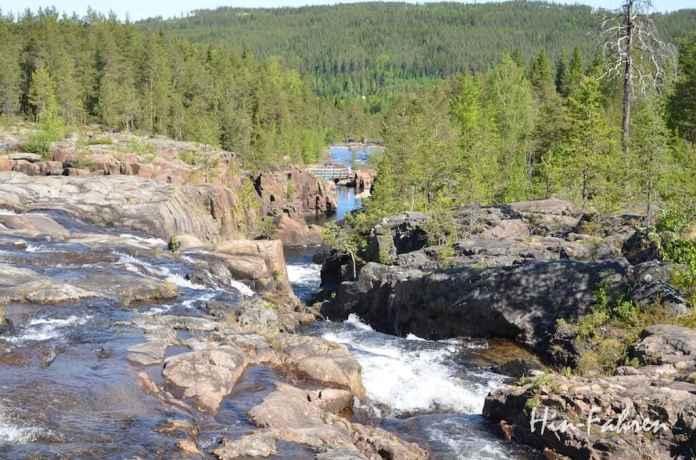 Naturpark Storforsen in Nordschweden