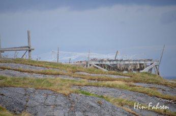 Trockengestell für Fisch bei Bugøynes
