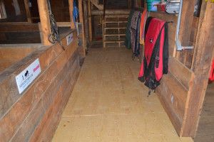 New Stable Floor