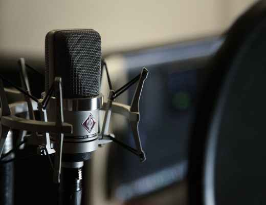 close up photo of microphone