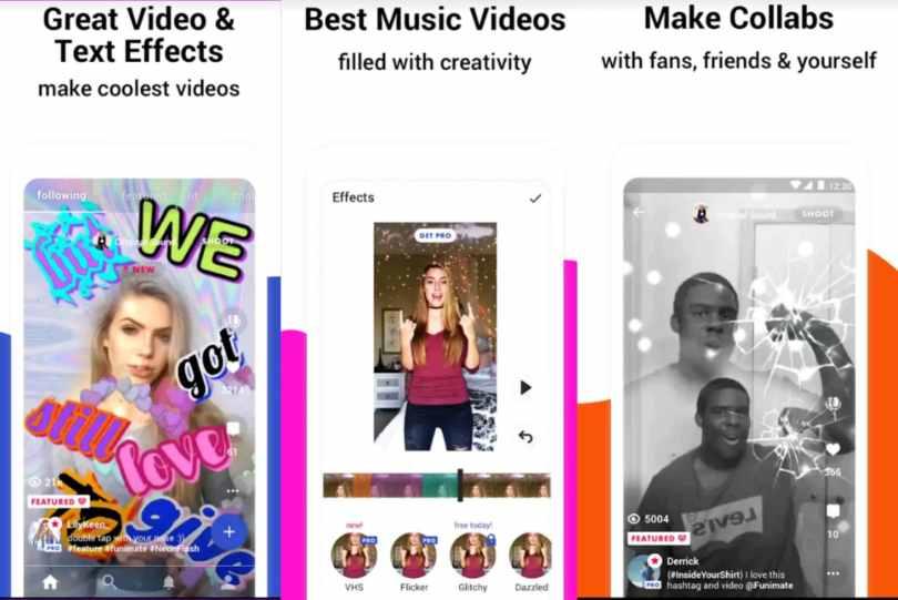 Funimate – वीडियो मेकर वाली ऐप्स