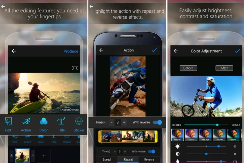 ActionDirector – Video Editor Apps