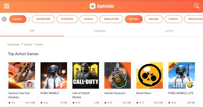 Aptoid , Aptoid Game Downloder , Game Download Apps