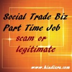 Social Trade Biz – Part time job Online scam