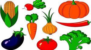 Vegetables names