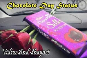 Chocolate Day Status Videos Whatsapp Shayri