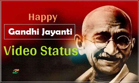 Gandhi Jayanti video status 2 october special Download free 150 janma