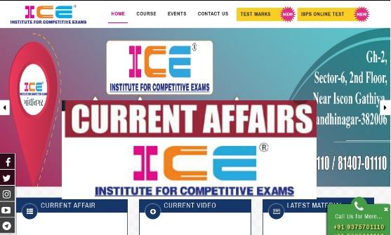 ICE Rajkot Current Affairs 2020 Gujarati PDF
