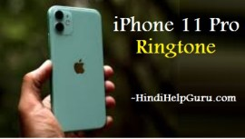 iphone 11 pro Ringtone