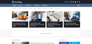 Techmag Blogger Templates