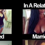 Single Life vs. Married Life Pictures And Jokes