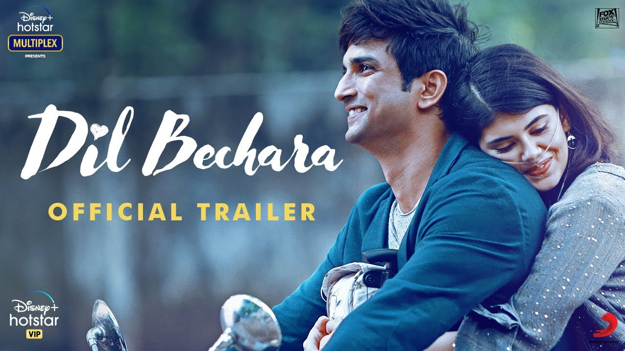 Dil Bechara – Sushant Singh Rajput – Official Trailer