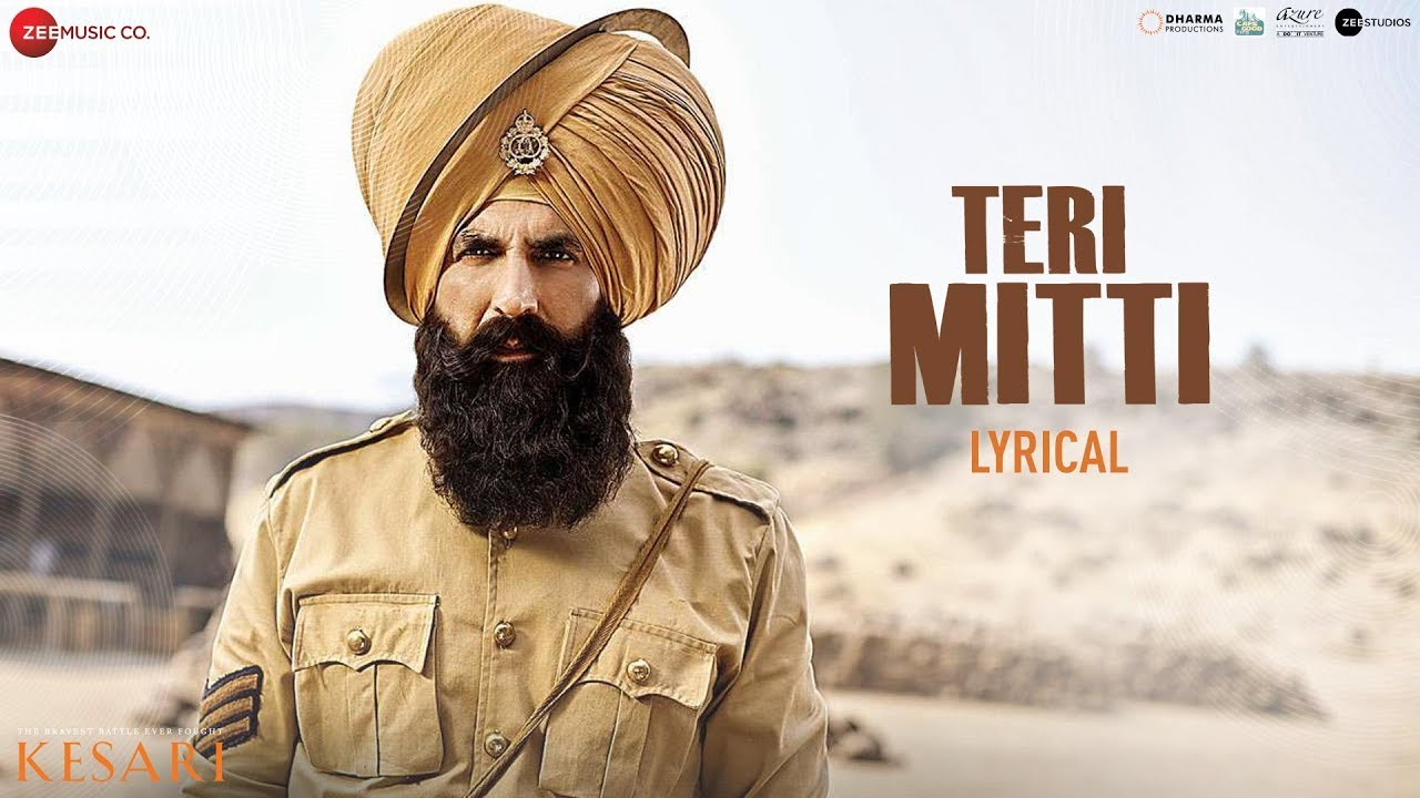 Teri Mitti (B Praak) Akshay Kumar – Lyrics