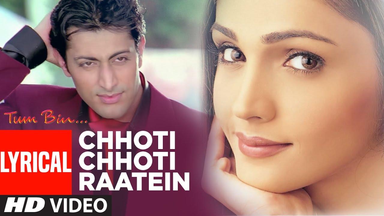Chhoti Chhoti Raatein (Sonu Nigam , Anuradha Paudwal) Lyrics