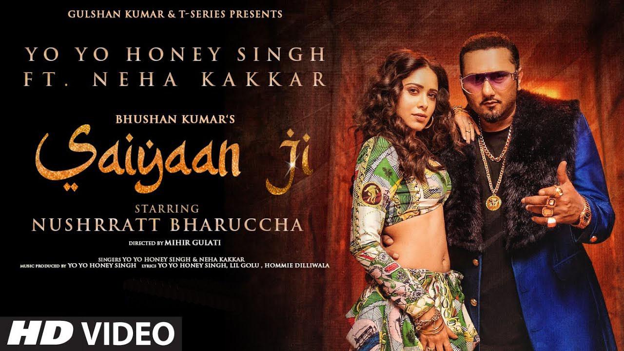 Saiyaan Ji (Yo Yo Honey Singh & Neha Kakkar) Lyrics