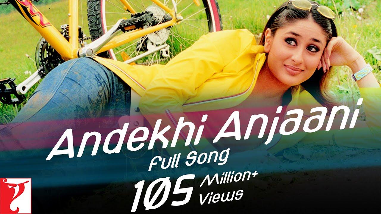 Andekhi Anjaani (Udit Narayan) Lyrics
