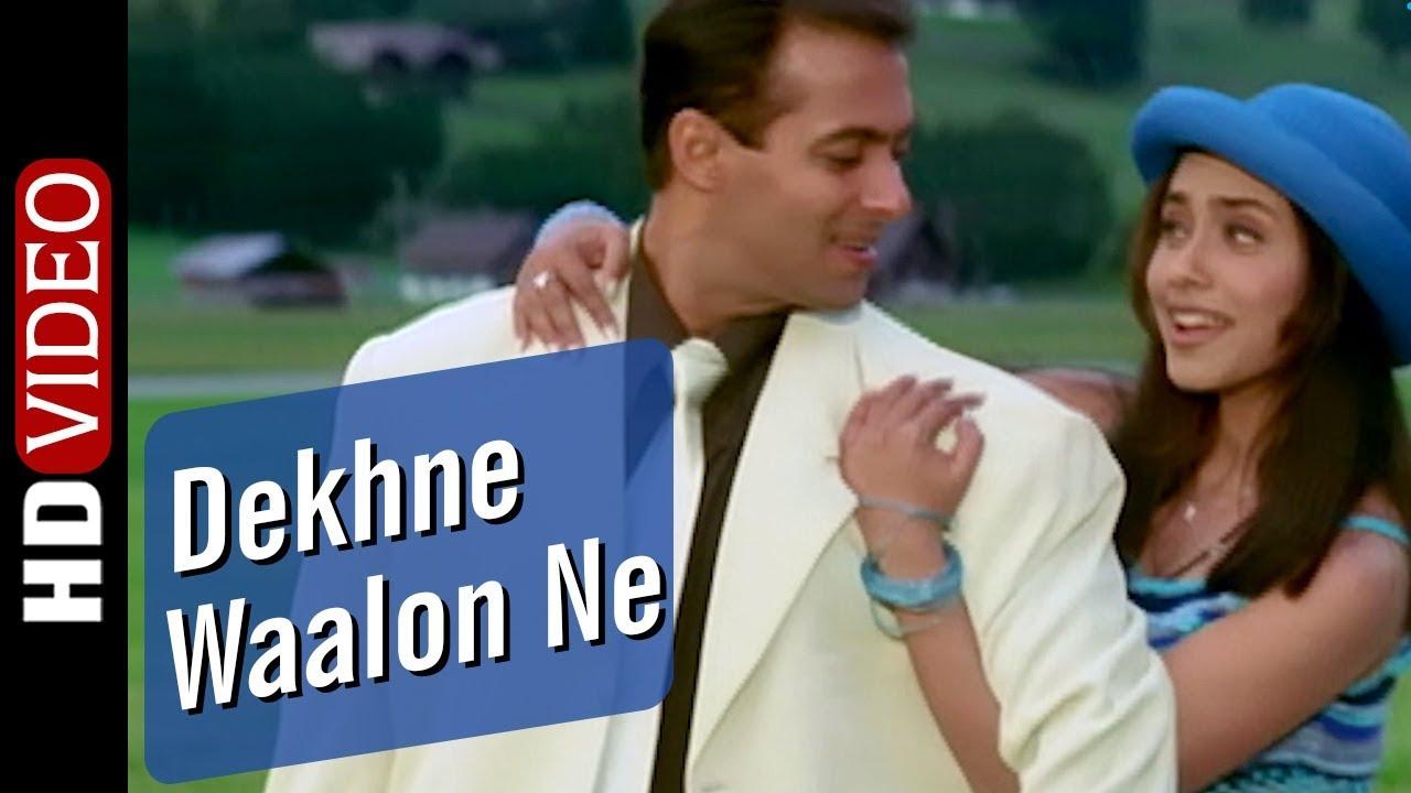 Dekhne Waalon Ne (Udit Narayan) Lyrics