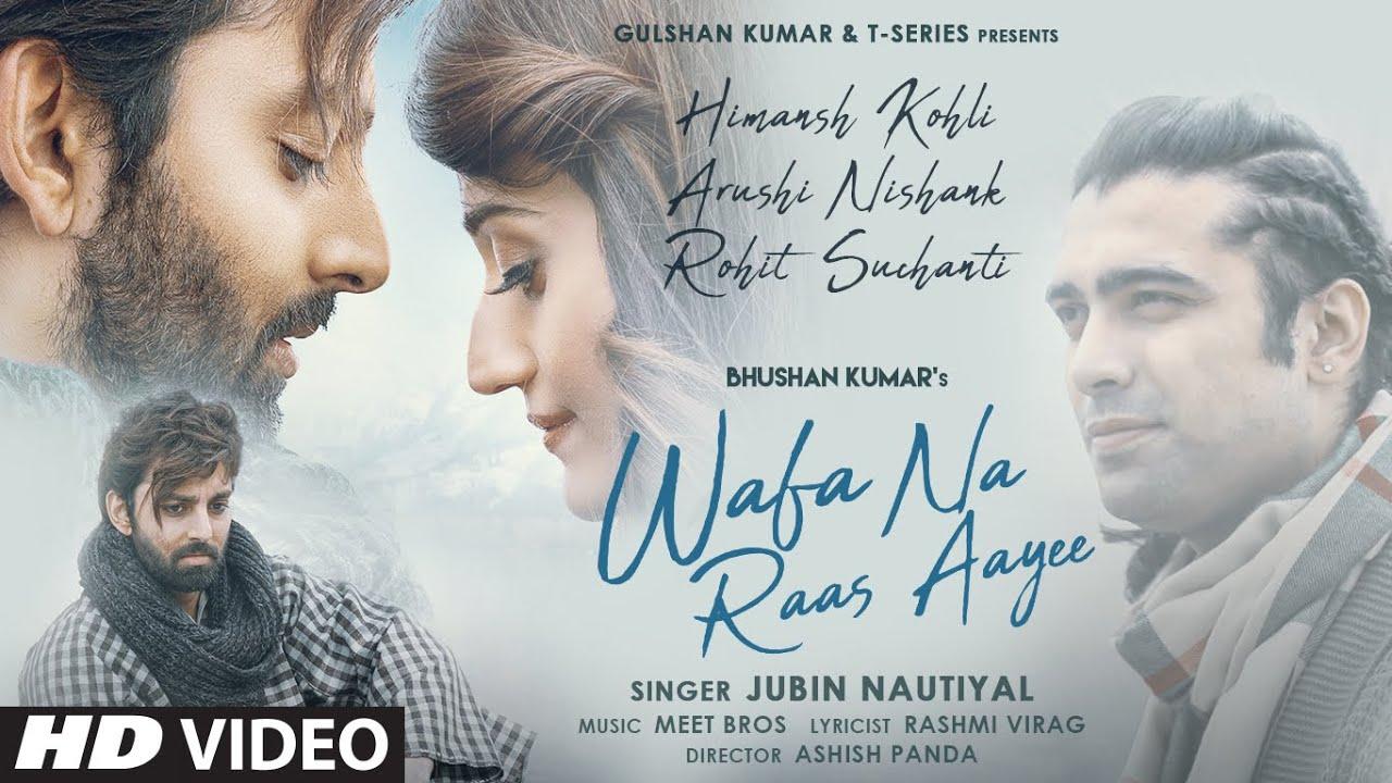 Wafa Na Raas Aayee (Jubin Nautiyal) Lyrics