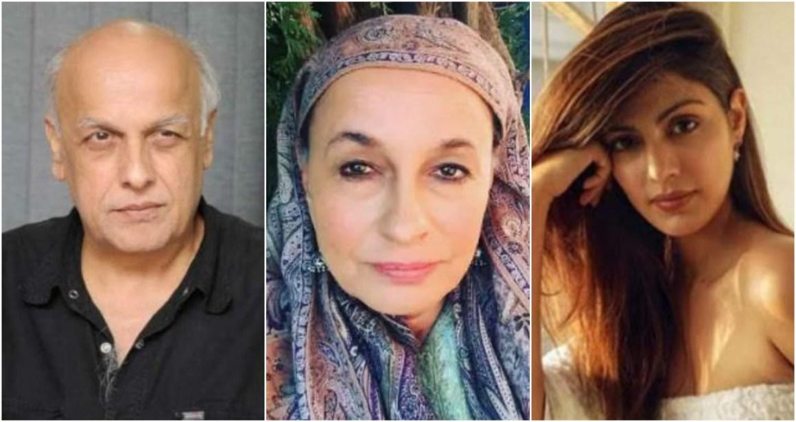 रिया चक्रवर्ती और महेश भट्ट की चैट पर सोनी राजदान का बयान, कहा- हां, महेश भट्ट ने मैसेज…