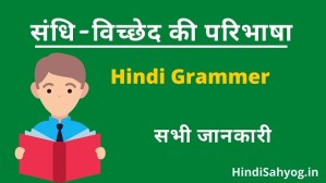 Sandhi Viched Hindi