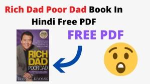 Rich Dad Poor Dad Book In Hindi Free PDF