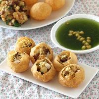 junk food list hindi pani puri
