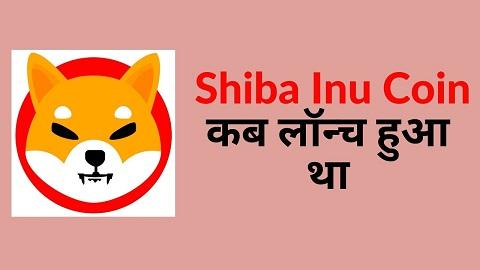 Shiba Inu Coin Kab Launch Hua Tha
