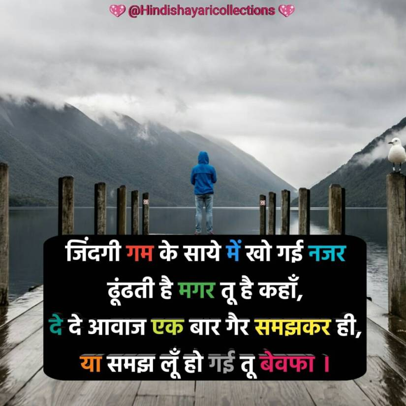 bewafa shayari hindi (8)