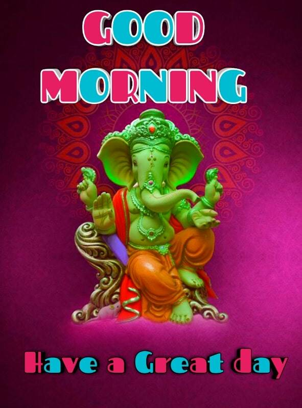 good morning lord ganesha images 88 min