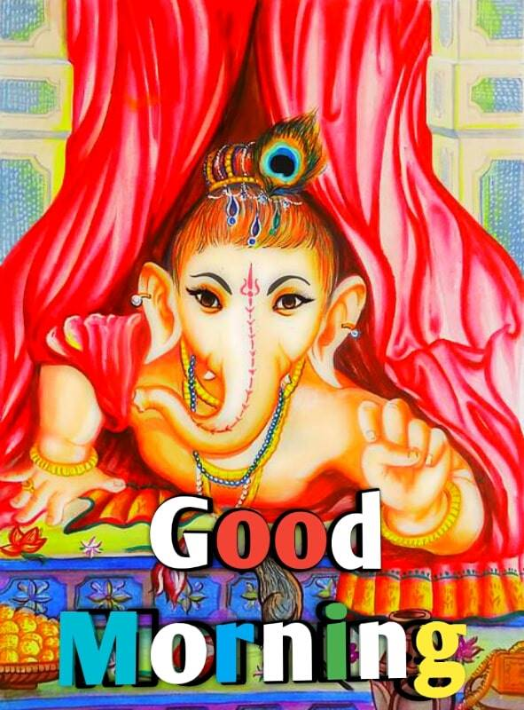 good morning lord ganesha images 91 min