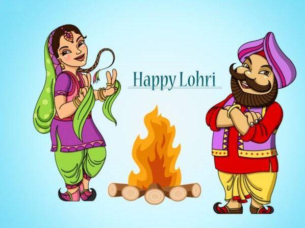 Wallpaper of Happy Lohri