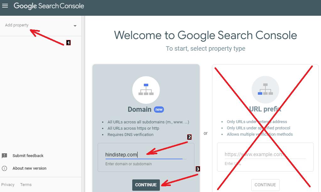 Google Search Console2