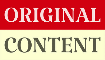 Original Content is King1