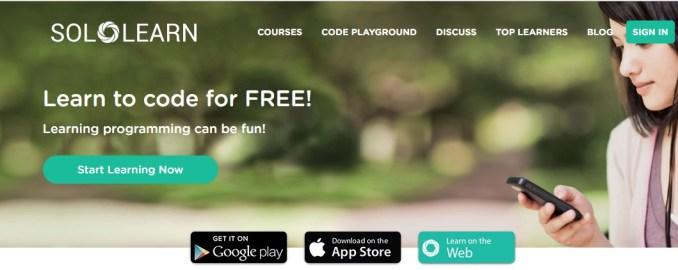 sololearn से web design