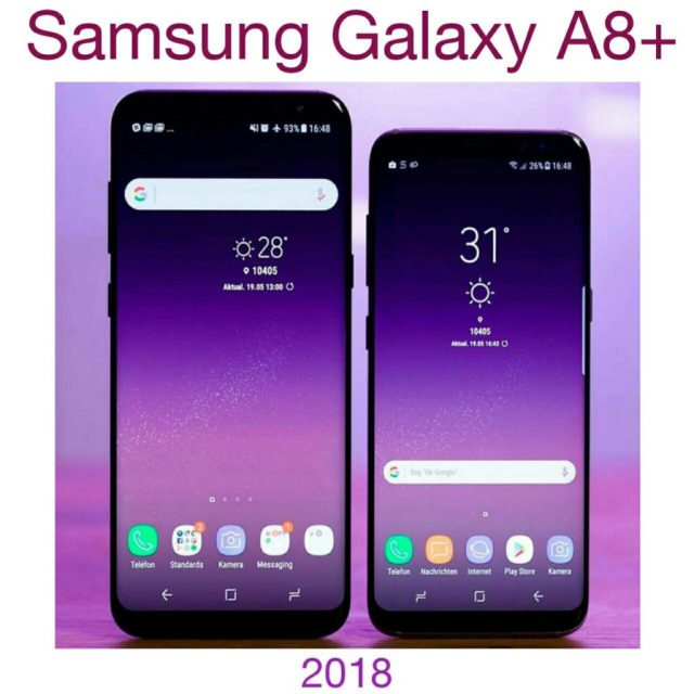 Samsung Galaxy A8 plus top five features in hindi