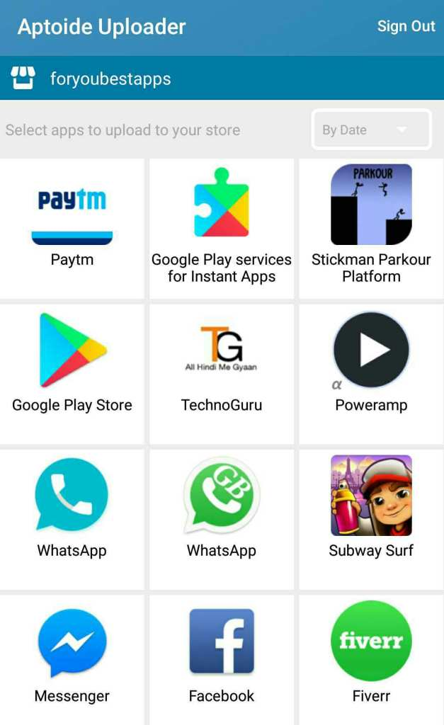 How to create own free app store in few minutes in hindi