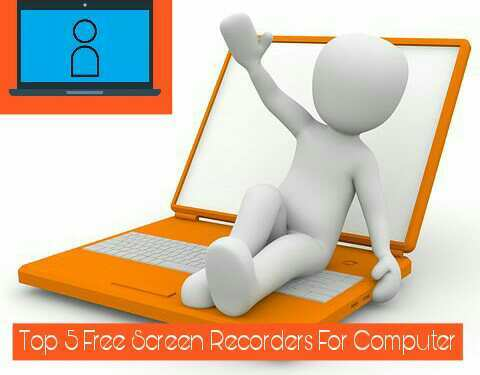Screen records for computer