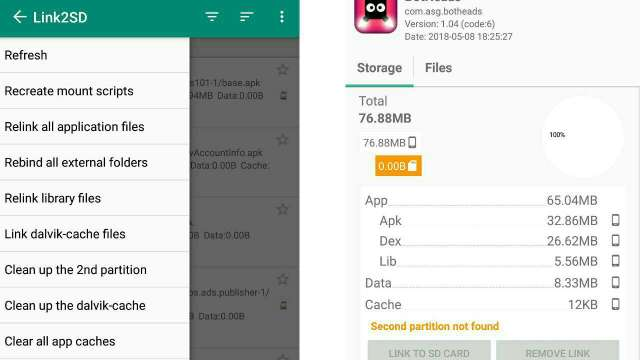 how to install and move apps on Internet storage to sdcard
