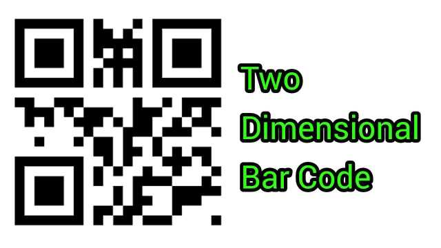 Two Dimensional Bar Code