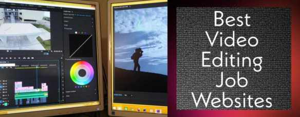 Best Websites For Video Editing Jobs - घर बैठे पैसे कमाए