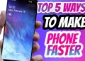 Top 5 Ways To Make Your Phone Faster In Hindi