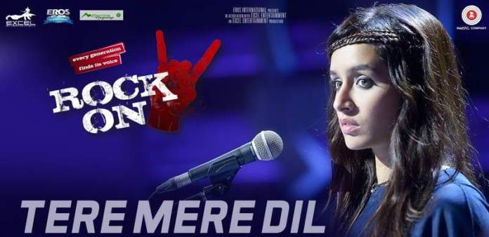 tere mere dil rock on 2