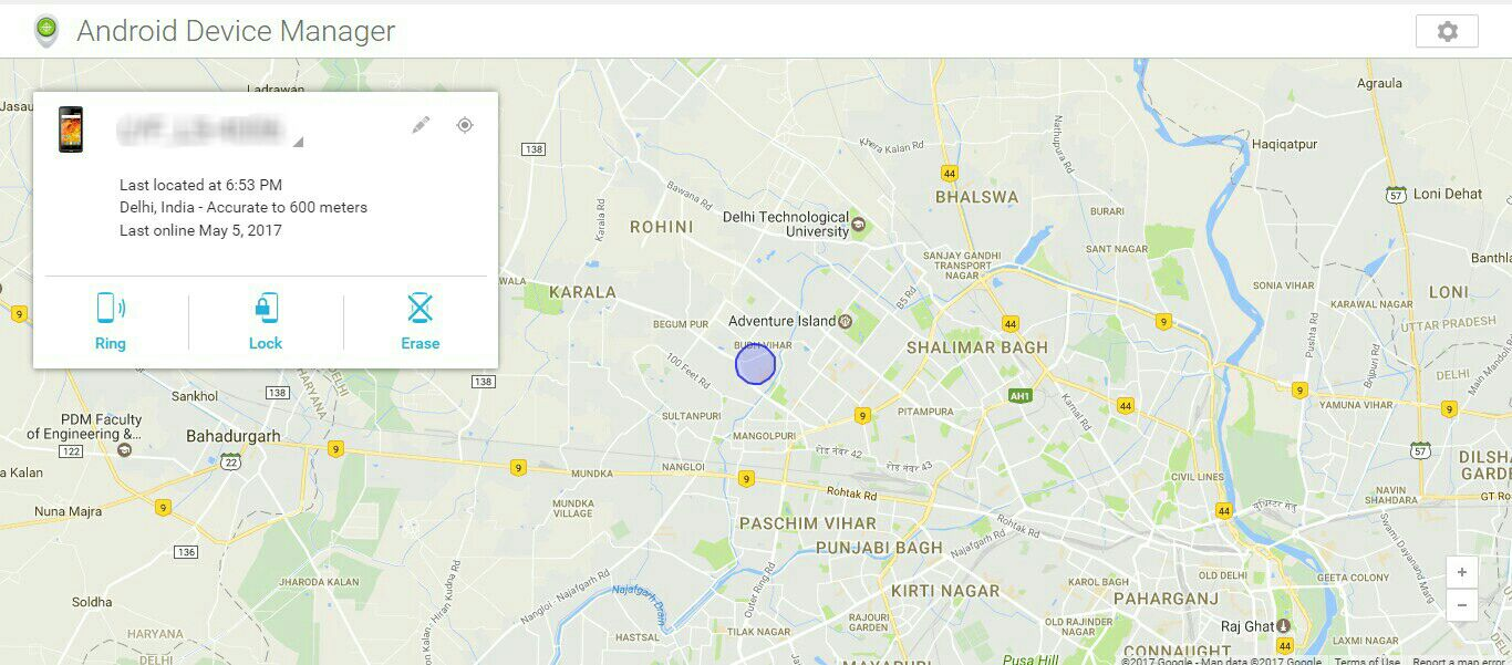mobile phone ki location kaise pata kare