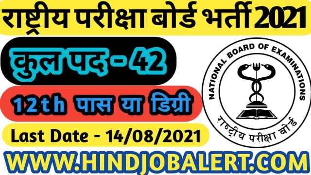 NBEMS-Bharti-2021