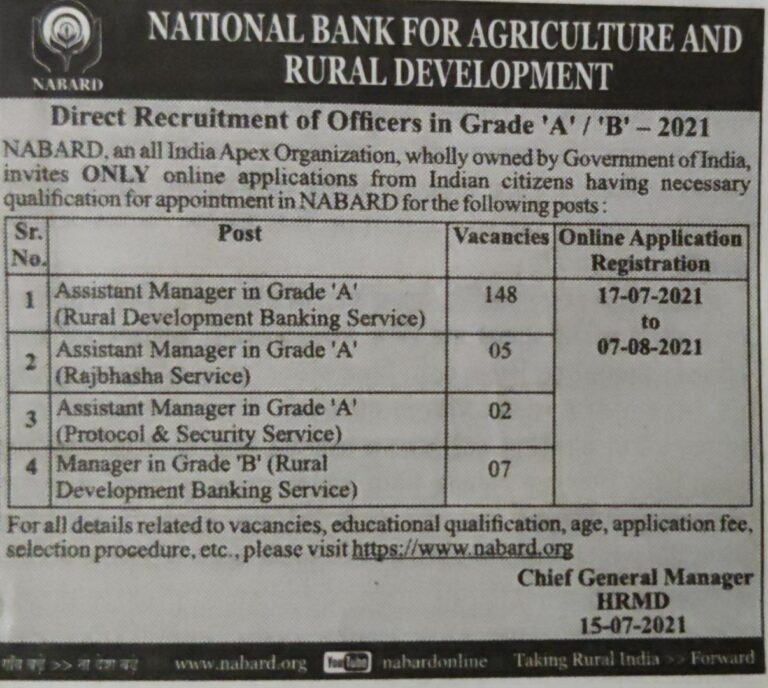 NABARD-Officers-Recruitment-2021