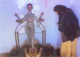 Muslims vandalised Idol of Kali Mata