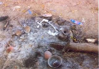 Muslim desecrated Temple of Kali Mata