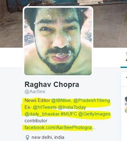 CNN IBN Raghav Chopra