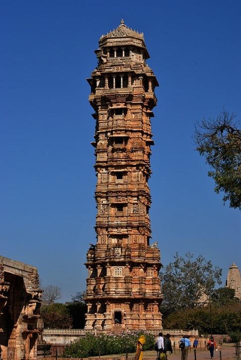 Rana Kumbha built Vijay Stambh