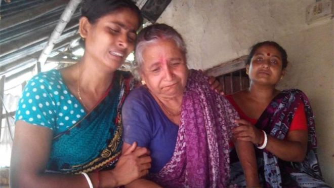 Wife of Hindu priest slaughtered
